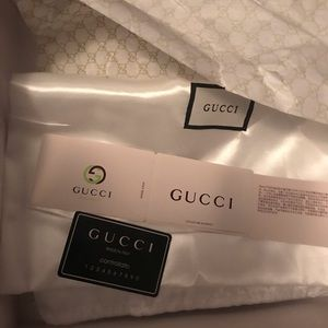 Gucci Shoes - GG canvas over-the-knee boots